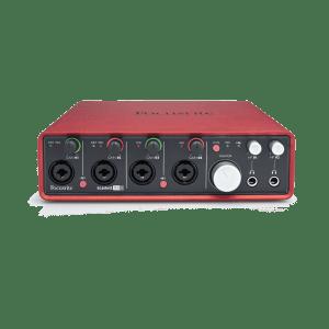 FOCUSRITE 18i8 RECORDING SOUND CARD-0. Recording Sound Card - Focusrite 18i8