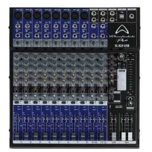 Wharfedale studiolive mixer SL824USB 8 Channel Studio Live
