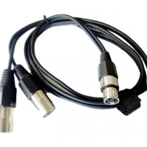 Tourtech Double XLR to Single XLR-0. Tourtech Audio microphone cables