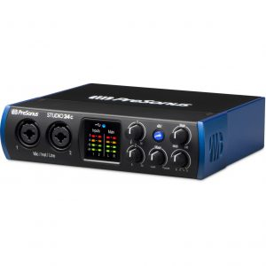 Presonus Studio 24c Audio box