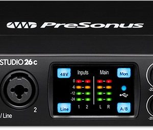 Presonus Studio 26c Audio box