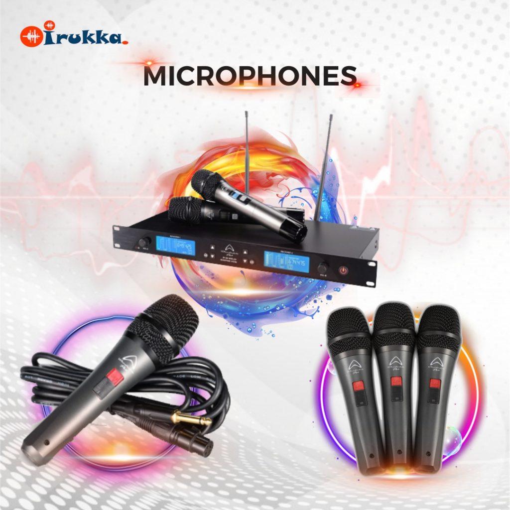 Wharfedale Microphones