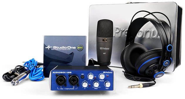 Setting up your music studio with the Presonus Audio Box