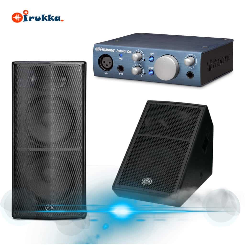 Difference between Studio monitors, Full range speakers and Sound card