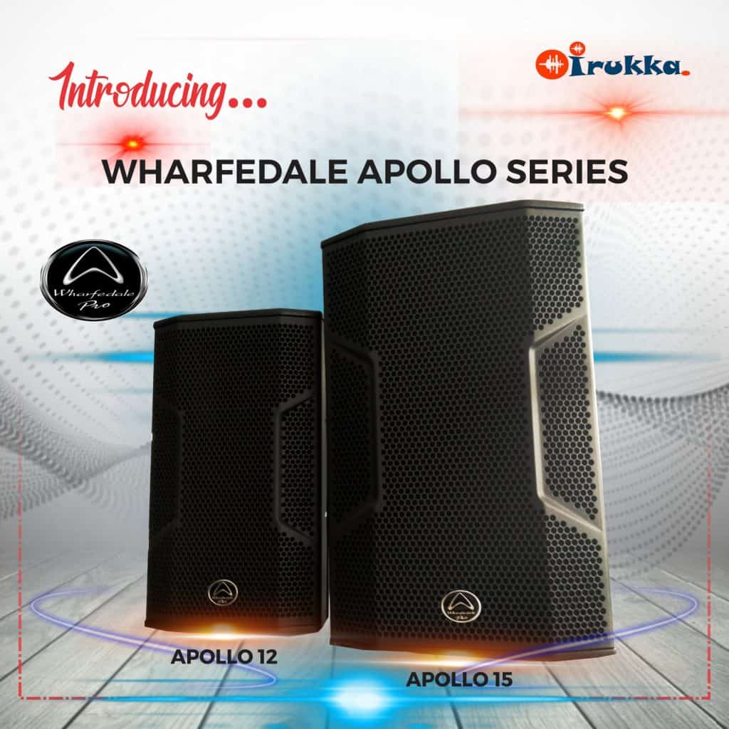 Catch the APOLLO Series Passive Loudspeakers in Nigeria.