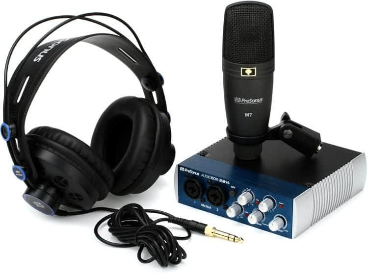 Starting Your Own Recording Studio with Presonus Studio Equipment... Starting Your Own Recording Studio with Presonus Studio Equipment