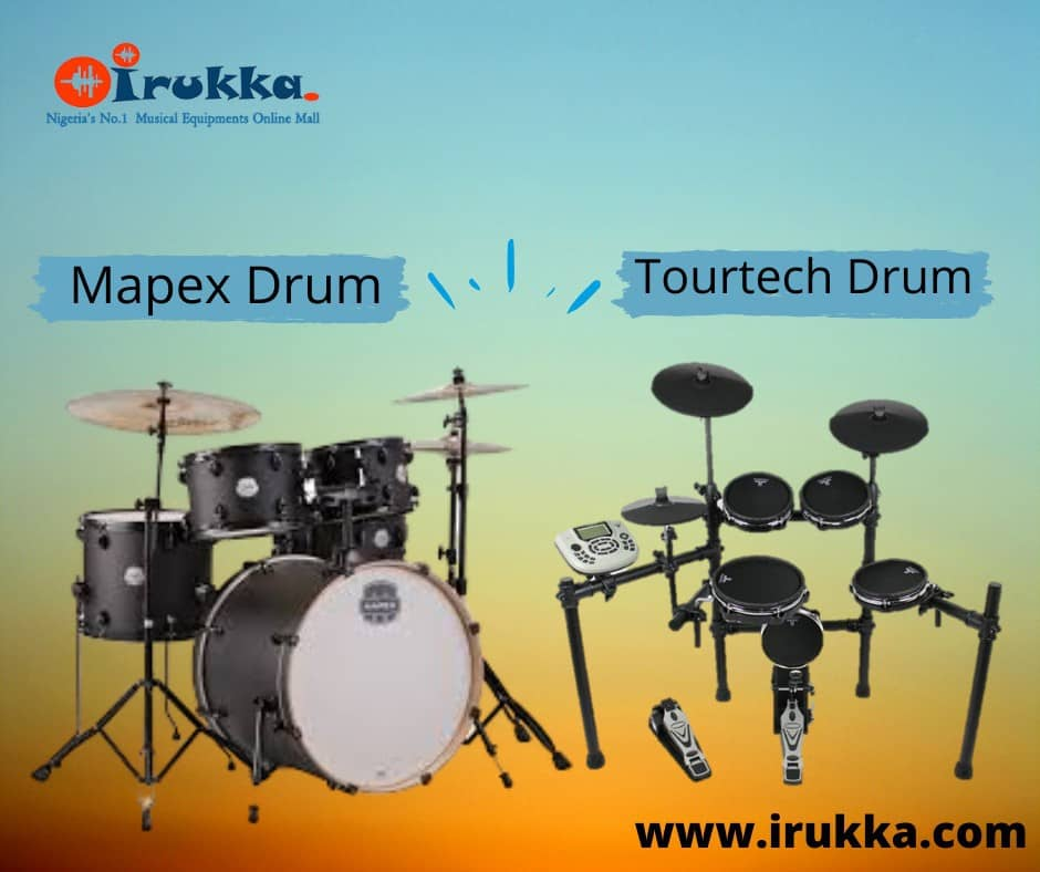 irukka.com: Affordable Mapex acoustic Drum sets and Tourtech electric Drum sets to Buy and learn Online in Lagos | Mapex acoustic drums in Nigeria | Tourtech electric drums in Nigeria
