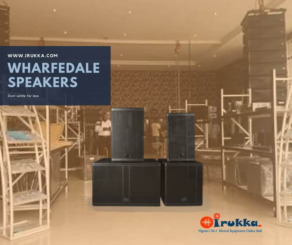 Wharfedale Speakers in Nigeria | Where to Buy Speakers in Lagos | Wharfedale Products in Nigeria, list of wharfedale speakers to buy in nigeria, list of speakers in nigeria,
