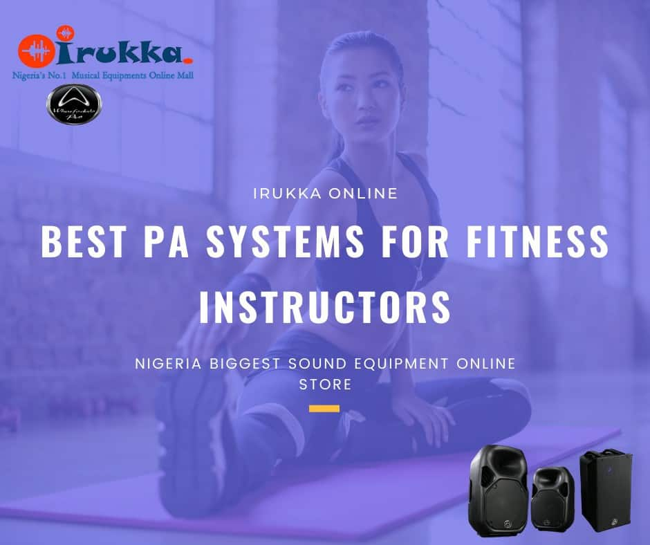 irukka.com: Best Professional Loudspeakers for Fitness Instructors | Top PA Systems for Gym House | Shop Wharfedale Portable Speakers in Lagos | Wharfedale Nigeria | Wharfedale Products