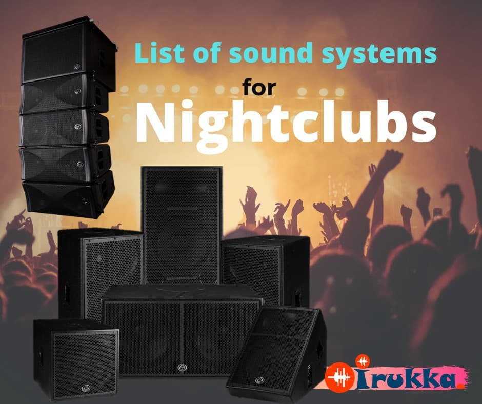 IRUKKA.COM: List of required audio equipment for nightclubs in Nigeria | Sound Equipment For Nightclubs in Lagos