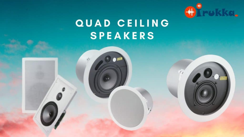 10 YEARS WARRANTY ON QUAD CEILING SPEAKERS IN NIGERIA ✓ buy ceiling speakers in Nigeria with 10 years warranty with free delivery in Lagos ✓