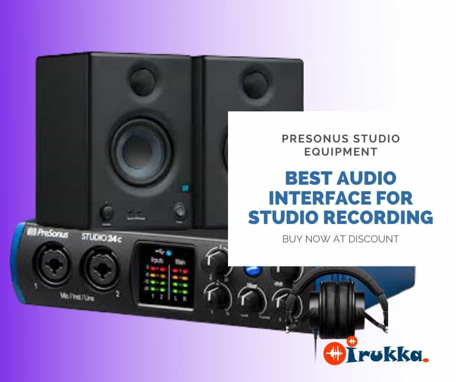STUDIO RECORDING EQUIPMENT: WHAT AUDIO INTERFACE DO I NEED FOR STUDIO RECORDING IN NIGERIA