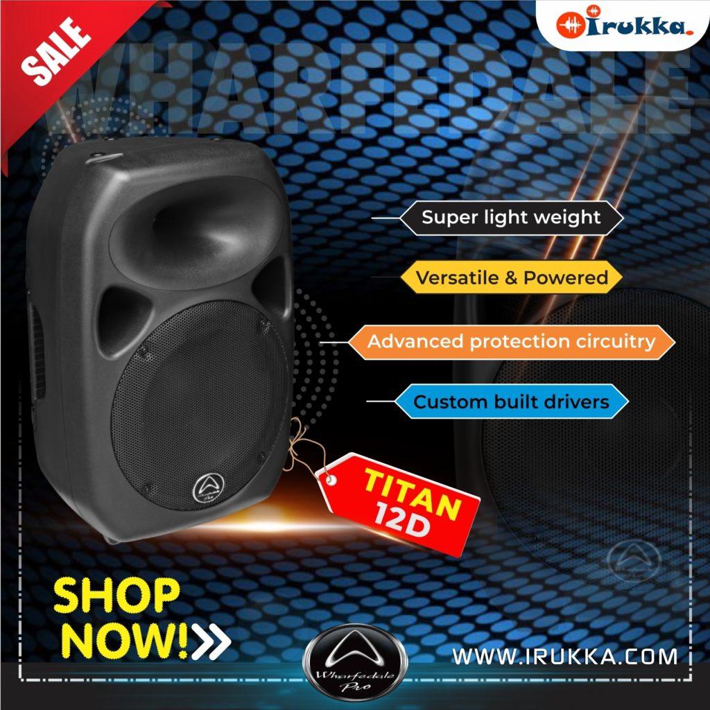 Titan 12D Active speakers on Irukka online music store