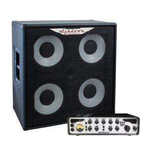 RM-414-EVO II Bass Cabinet And RM-500-EVO-II-Head