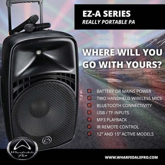 EZ - A SERIES Portable PA Shop and Buy on Irukka Online