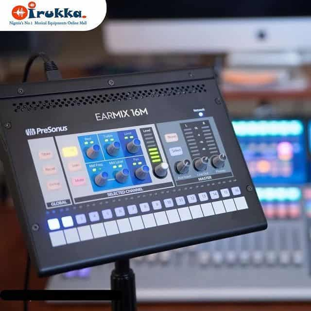 Everybody in the Band Can Hear Clearly Now With The PreSonus EarMix 16M Shop and Buy on Irukka