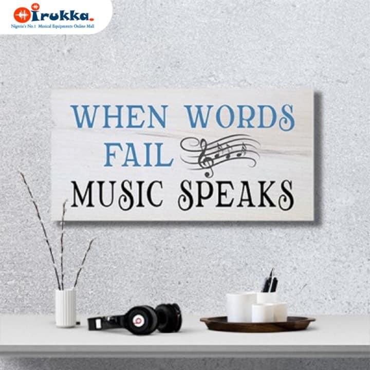 monday motivation: when words fails music speaks