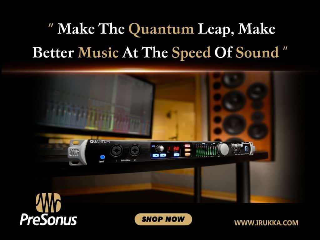 Make The Quantum Leap, Make Better Music at the Speed of Sound
