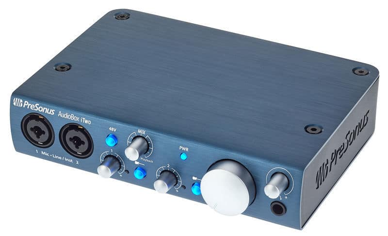 Presonus AudioBox iOne is an #Excellent choice for mobile musicians, sound designers, and #podcasters