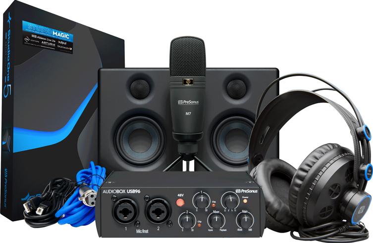 Complete Recording Bundle AudioBox PreSonus