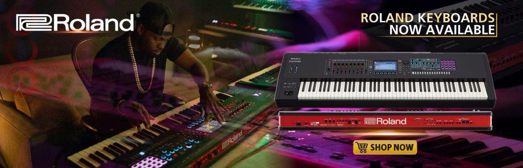 With The New Fantom 8 Synthesizer Keyboard, You Have Everything and Always.
