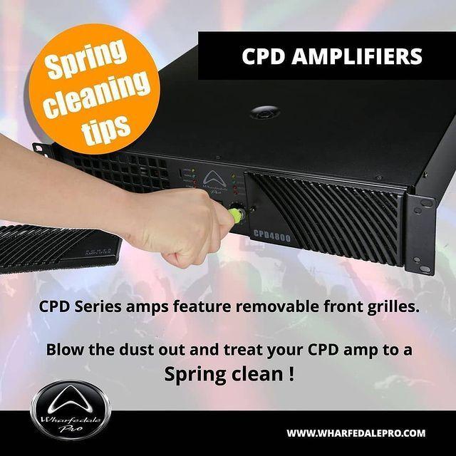 WHARFEDALE EASY TO CLEAN CPD AMPLIFIERS on Irukka Online