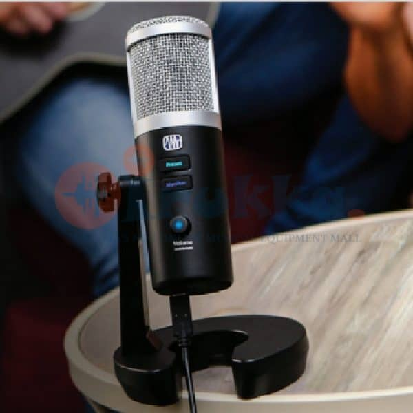 Presonus Revelator, Professional USB microphone for streaming, podcasting, gaming, and more.