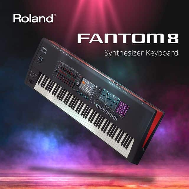 Roland Fantom 8 Synthesizer Keyboard