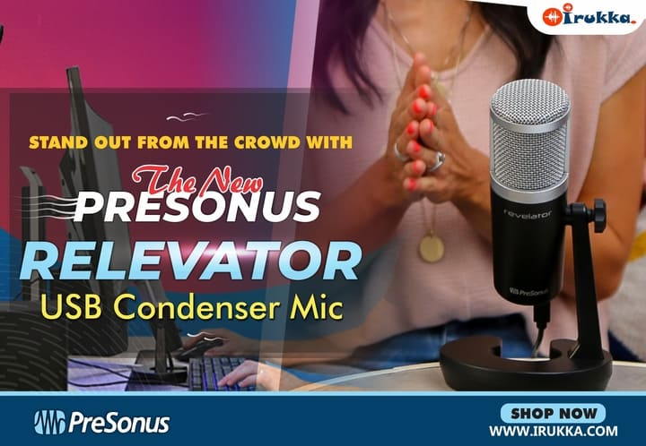 The PreSonus Revelator Mic, The Microphone That Stands Out