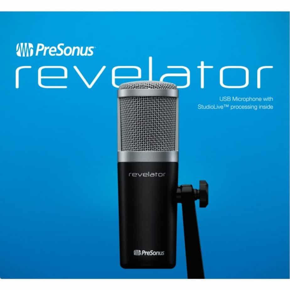 The PreSonus Revelator is more than a microphone