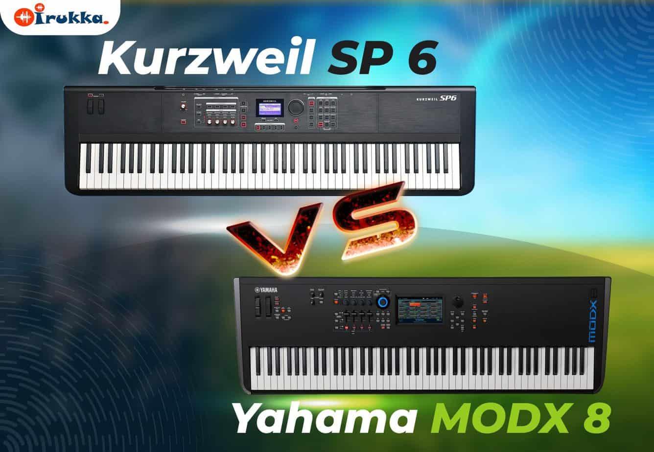 Kurzweil SP 6 VS Yahama Modx 8