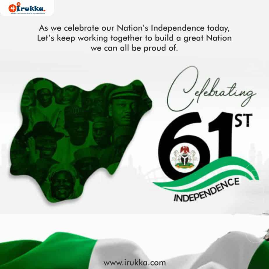 Happy Independence Day Nigeria 2021