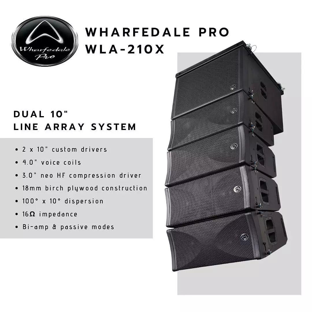 wharfedalewla210line array had.